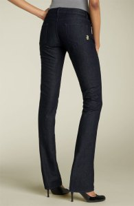 I actually own these jeans. And unlike the model, I actually have a butt. And they look GREAT on me. But I have nothing to wear with them. And they feel too fancy for every day denim.