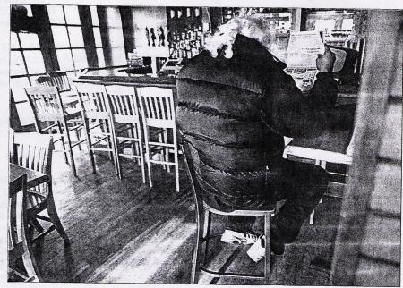 John Lee as Crispus Attucks. Shot for the Washington Post. January 23, 2001