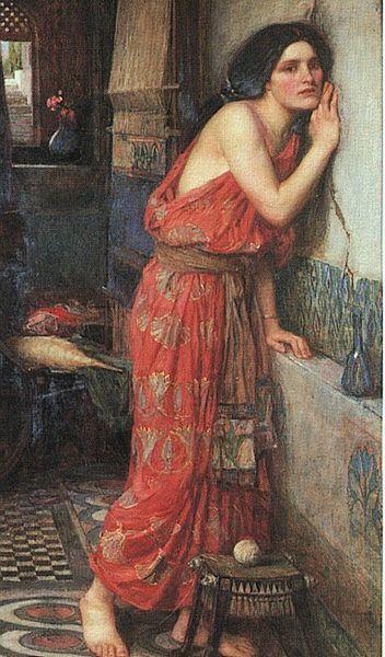 Thisbe: By John William Waterhouse 1909