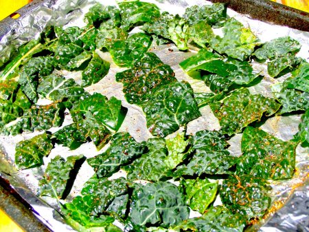 Kale chips! Don't knock 'em til you try them!