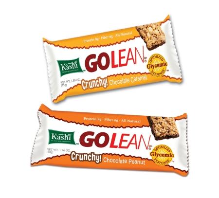 Kashi Crunchy Chocolate Peanut protein and fiber bar