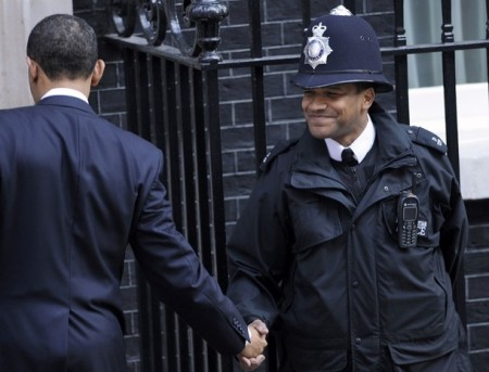 April 1, 2009, 10 Downing Street, London. credit: Toby Melville/Reuters