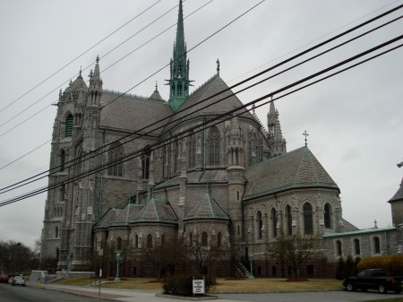 Cathedral Basilica. Construction began in 1899. Opened in 1954. It's the 5th largest cathedral in the United States.
