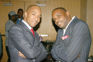 Datwon Thomas, founder. Jermaine Hall, editor-in-chief.
