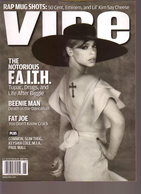 My last cover story for Vibe. Faith Evans. 2005.